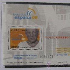 Sellos: 2006 EXPOSICION MUNDIAL DE FILATELIA,ESPAÑA 2006. HOJITAS EDIFIL 4268/74. Lote 27497536
