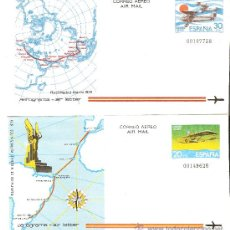 Sellos: AEROGRAMAS CONMEMORATIVOS EDIFIL Nº 291,292. Lote 22572572