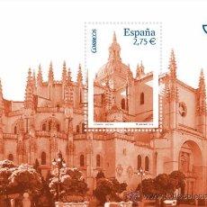 Timbres: ESPAÑA 2010 - CATEDRAL DE SEGOVIA - 1 HOJITA BLOQUE - EDIFIL Nº 4580. Lote 170492004