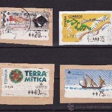 Sellos: ATM ESPAÑA USADOS EN PESETAS. Lote 22982052