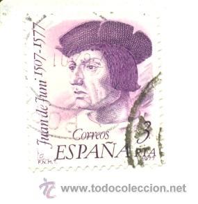 1U-2462. SELLO USADO ESPAÑA. EDIFIL Nº 2462. 3 PTAS. JUAN DE JUNI (Sellos - España - Juan Carlos I - Desde 1.975 a 1.985 - Usados)