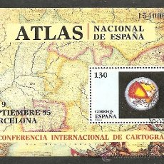 Sellos: 1995-ED.3388 H.B.-CONF. CARTOGRAFIA.ATLAS-USADO. Lote 97207496