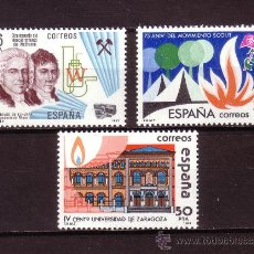 Sellos: ESPAÑA 2715/17** - AÑO 1983 - ANIVERSARIOS. Lote 23713096