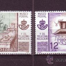 Sellos: ESPAÑA EDIFIL 2637/38*** - AÑO 1981 - MUSEO POSTAL. Lote 24165669