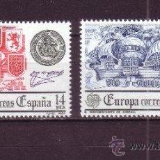 Sellos: ESPAÑA 2657/58** - AÑO 1982 - EUROPA - HECHOS HISTORICOS. Lote 211594351