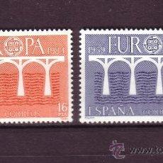 Sellos: ESPAÑA EDIFIL 2756/57*** - AÑO 1984 - EUROPA. Lote 24165945