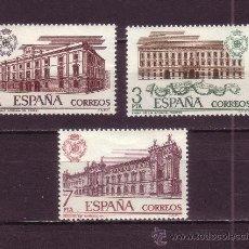 Sellos: ESPAÑA EDIFIL 2326/28*** - AÑO 1976 - ADUANAS. Lote 24400329