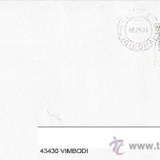 Sellos: CARTA CIRCULADA ATM VAPOR MIXTO PINILLOS EN EUROS SIN NUMERO DE MAQUINA EXPENDEDORA MANFIL 2002.009. Lote 24437602