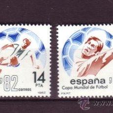 Selos: ESPAÑA 2661/62** - AÑO 1982 - CAMPEONATO DEL MUNDO DE FÚTBOL DE ESPAÑA. Lote 118967840