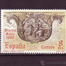 Sellos: ESPAÑA EDIFIL 2575*** - AÑO 1980 - DIA DEL SELLO. Lote 24812459