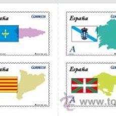 Sellos: ESPAÑA 2009 - AUTONOMIAS - CARNET CON 8 SELLOS ADHESIVOS - EDIFIL Nº 4446-4453. Lote 288153408