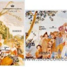 Sellos: ESPAÑA 2008 - PATRIMONIO NACIONAL. TAPICES - EDIFIL Nº 4427/28. Lote 288153013