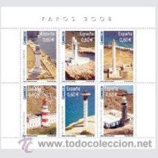 Sellos: ESPAÑA 2008 - FAROS - EDIFIL Nº 4430. Lote 174120838