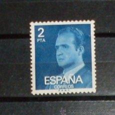 Sellos: 1 SELLO JUAN CARLOS - ESPAÑA - 2 PTA - USADO SIN MATASELLO. Lote 27299323