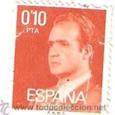 Sellos: SELLO DE JUAN CARLOS 0,10 PTA . Lote 27603375