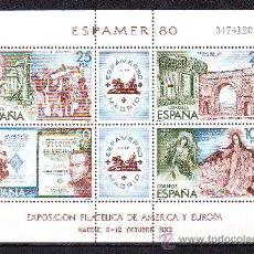Sellos: ESPAÑA***. AÑO 1980.EDIFIL HB.2583.ESPAMER 80.. Lote 27753006