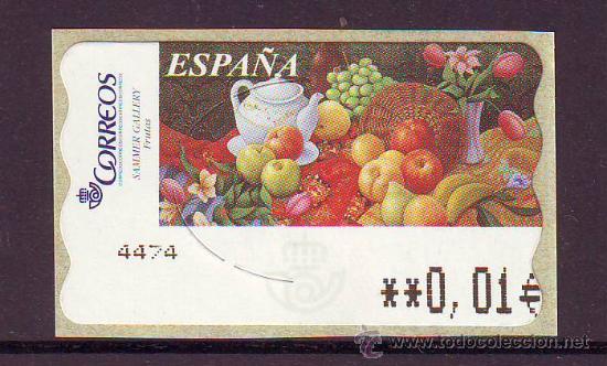 espa a atm frutas minimo estrecho comprar sellos nuevos juan rh en todocoleccion net