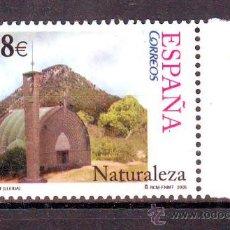 Sellos: ESPAÑA***.AÑO 2005.EDIFIL 4175.NATURALEZA.EL PUENTE DE LA SUERTE.LLEIDA.. Lote 172753340
