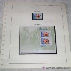 Sellos: EDIFIL EUROPA HOJA DE ALBUM SELLOS Nº 128 AZORES. Lote 28149997