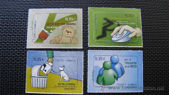 2011 VALORES CIVICOS, SELLOS AUTOADHESIVOS (Sellos - España - Juan Carlos I - Desde 2.000 - Nuevos)
