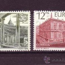 Sellos: ESPAÑA 2474/75** - AÑO 1978 - EUROPA - MONUMENTOS. Lote 270403908