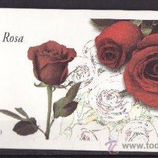 Sellos: TALONARIO FLORES ROSA -VACIO-. Lote 28988567