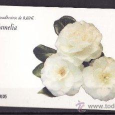 Sellos: TALONARIO FLORA CAMELIA -VACIO-. Lote 28988586