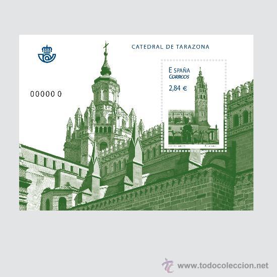 ESPAÑA 2011 - CATEDRAL DE TARAZONA - HOJITA BLOQUE - EDIFIL Nº 4679 (Sellos - España - Juan Carlos I - Desde 2.000 - Nuevos)