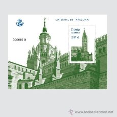 Sellos: ESPAÑA 2011 - CATEDRAL DE TARAZONA - HOJITA BLOQUE - EDIFIL Nº 4679. Lote 58104947
