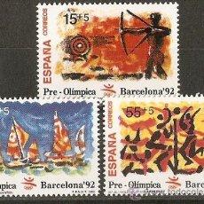 Francobolli: ESPAÑA NUMERO 3157/9 SERIE COMPLETA NUEVA SIN FIJASELLOS. Lote 134271671