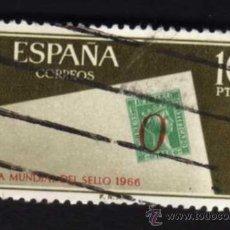 Sellos: 1 SELLO USADO, AÑO 1966, EDIFIL 1725. DÍA MUNDIAL DEL SELLO.. Lote 29666074