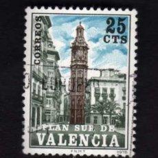 Sellos: 1 SELLO USADO, AÑO 1966, EDIFIL 4. SERIE: PLAN SUR DE VALENCIA.. Lote 29666361
