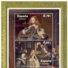 Sellos: ESPAÑA 2009 EDIFIL 4519 SELLO ** HB VELAZQUEZ LAS MENINAS CONJUNTA AUSTRIA TIMBRE ESPAGNE SPAIN. Lote 29940000