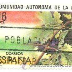 Sellos: 1U-2689. SELLO USADO ESPAÑA. EDIFIL Nº 2689. COMUNIDAD AUTONOMA DE LA RIOJA. Lote 30291195