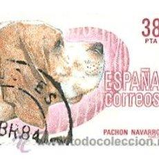 Sellos: 1U-2714. SELLO USADO ESPAÑA. EDIFIL Nº 2714. PERRO. PACHÓN NAVARRO. Lote 30399407