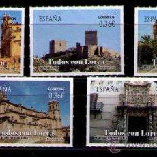 Sellos: ESPAÑA 2012 - TODOS CON LORCA - EDIFIL Nº 4691-4695. Lote 30410492