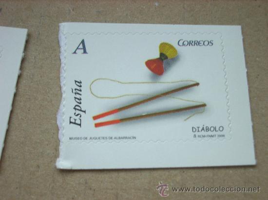 EDIFIL 4371 JUGUETES 2008 NUEVO TARIFA A (Sellos - España - Juan Carlos I - Desde 2.000 - Nuevos)