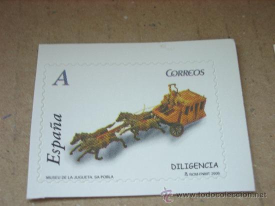 EDIFIL 4373 JUGUETES 2008 NUEVO TARIFA A (Sellos - España - Juan Carlos I - Desde 2.000 - Nuevos)