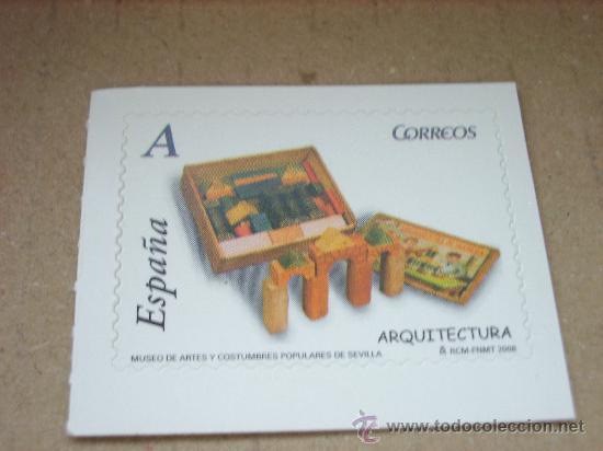 EDIFIL 4374 JUGUETES 2008 NUEVO TARIFA A (Sellos - España - Juan Carlos I - Desde 2.000 - Nuevos)