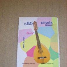 Sellos - EDIFIL 4628 INSTRUMENTOS MUSICALES 2011 NUEVO 0,35 € MIMMA (MALAGA) - 30428699