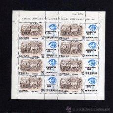 Sellos: MINIPLIEGO DE OCHO SELLOS - EDIFIL 2719 - DIA DEL SELLO 1983.. Lote 159881946