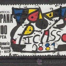 Sellos: 1981 ESPAÑA - PICASSO - USADO - EDIFIL 2609. Lote 30851444
