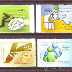 Sellos: ESPAÑA*** SPAIN.AÑO 2011.EDIFIL NR. 4639/4642.VALORES CIVICOS.. Lote 30969817