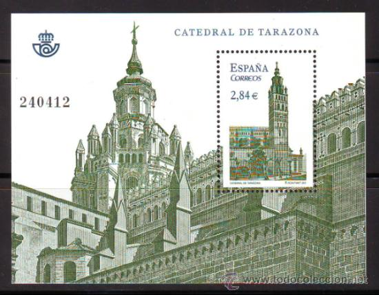 ESPAÑA*** SPAIN.AÑO 2011.EDIFIL NR.??....CATEDRAL DE TARAZONA.ZARAGOZA. (Sellos - España - Juan Carlos I - Desde 2.000 - Nuevos)