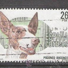 Sellos: 1983 ESPAÑA - PERROS DE RAZA ESPAÑOLA - PODENCO IBICENCO - USADO - EDIFIL 2713. Lote 31020551