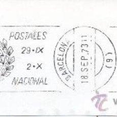 Sellos: MATASELLOS MARCAS POSTALES I SIMPOSIUM NACIONAL. Lote 31165246