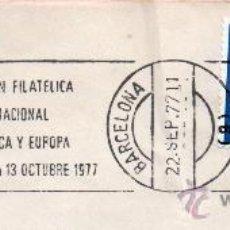 Sellos: MATASELLOS EXPOSICION FILATELICA INTERNACIONAL DE AMERICA Y EUROPA . Lote 31165260