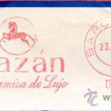 Sellos: MATASELLOS ALAZAN LA CAMISA DE LUJO. Lote 31165294