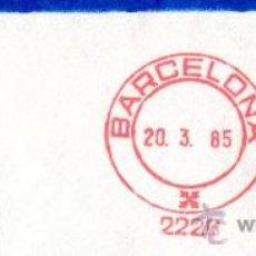 Sellos: MATASELLOS BARCELONA. Lote 31165334