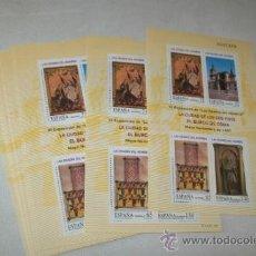 Sellos: 17 HOJITAS DE: VI EXPOSICIÓN DE LAS EDADES DEL HOMBRE-MAYO-NOVIEMBRE DE 1997. Lote 31208149